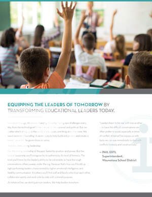 Education Brochure White Paper